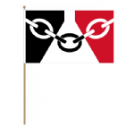 Black Country Hand Flag - Large.